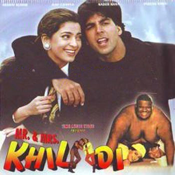 A scene from Mr And Mrs Khiladi