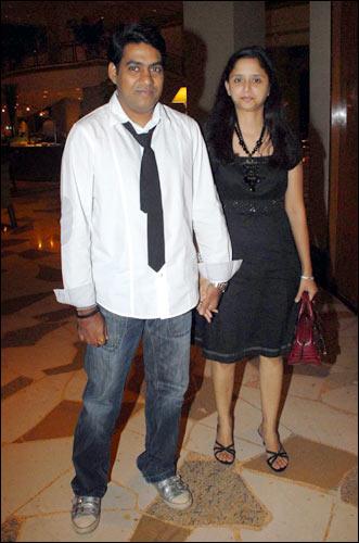 Sabbir Khan and wife