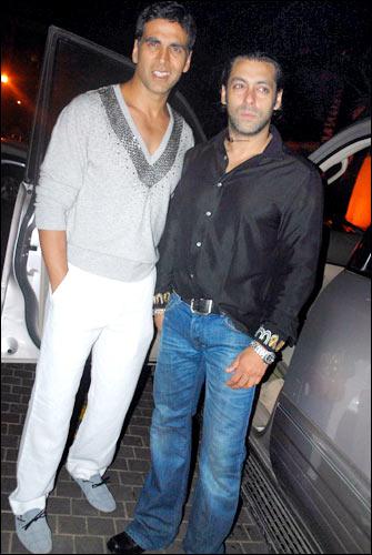 Akshay Kumar and Salman Khan
