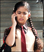 Balika Vadhu's Anandi goes for a Morning Walk :  Child star Avika Gor,