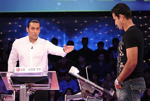 Salman Khan and Irfan Pathan