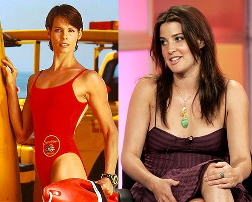 Alexandra Paul and Cobie Smulders