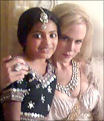 Rubina Ali and Nicole Kidman