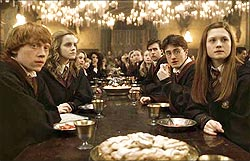 A scene from Harry Potter and the Half-Blood Prince