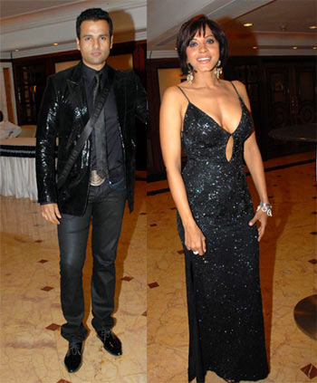 Rohit Roy and Manasi Scott