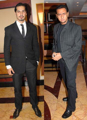 Dino Morea and Gulshan Grover