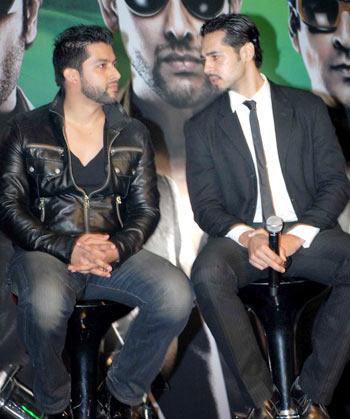 Aftab Shivdasani and Dino Morea
