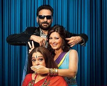 Judges Shekar Kapur, Sonali Bendre and Kirron Kher