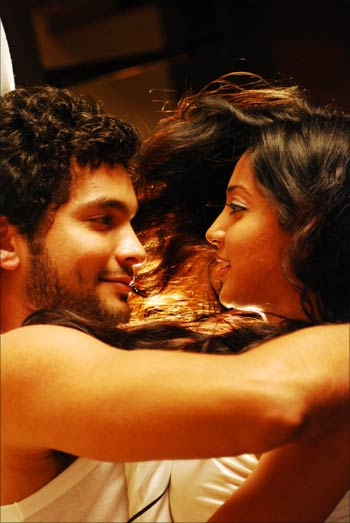 Diganth and Andrita Ray from Manasaare
