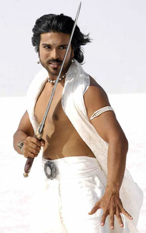 A scene from Magadheera