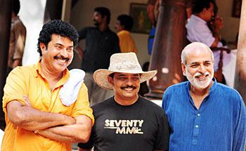 Mammootty, Jayaraj and Sashi Kumar