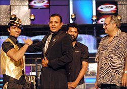 Salman Khan, Mithun, Prabhudeva and Boney Kapoor