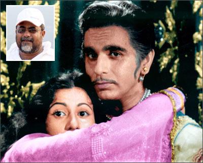 A scene from <I>Mughal-E-Azam</I>