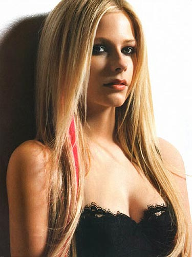 Avril Lavigne. Prev Next. Think Lavigne and you think bright punky pink hair
