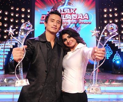 Baichung Bhutia and Sonia Jaffer