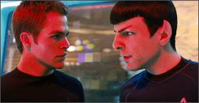 A scene from Star Trek