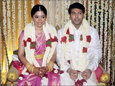 Aarthi and Jayam Ravi