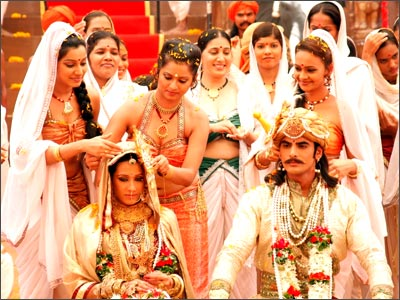 On the sets of Chittod Ki Rani Padmini Ka Johur