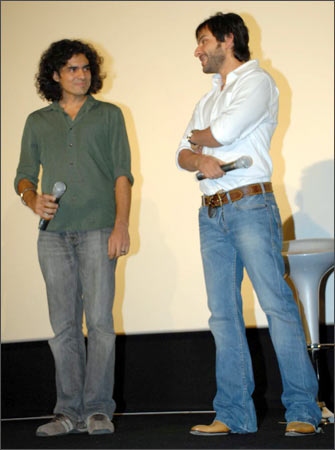 Imtiaz Ali and Saif Ali Khan