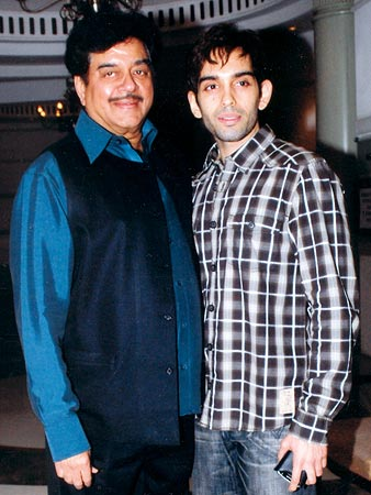 Shatrughan Sinha and son Luv