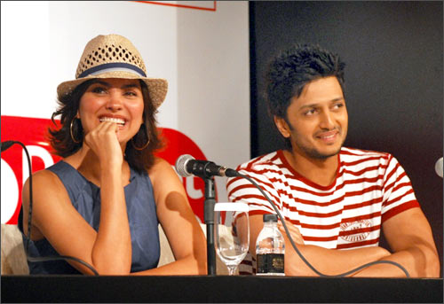 Lara Dutta and Riteish Deshmukh