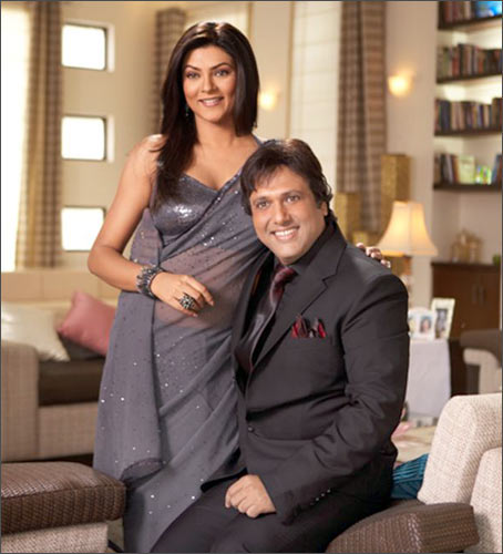 Sushmita Sen and Govinda