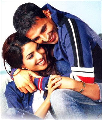 Akshay Kumar and Priyanka Chopra