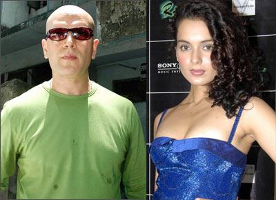 Aditya Panscholi and Kangna Ranaut