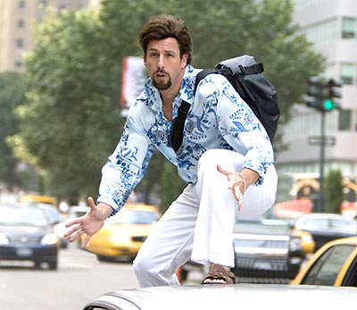 Adam Sandler in a scene from You Don't Mess With The Zohan