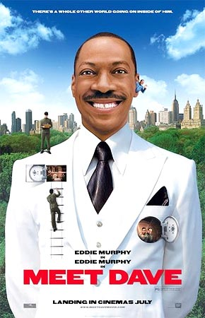 Eddie Murphy in a scene from Meet Dave