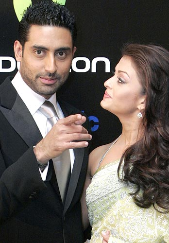Abhishek Bachchan and wife Aishwarya