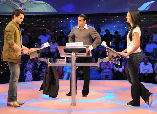 Neil, Salman and Katrina