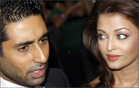 Abhishek and Aishwarya International at the Indian Film Academy awards in China