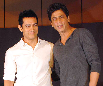 SRK and Aamir Khan
