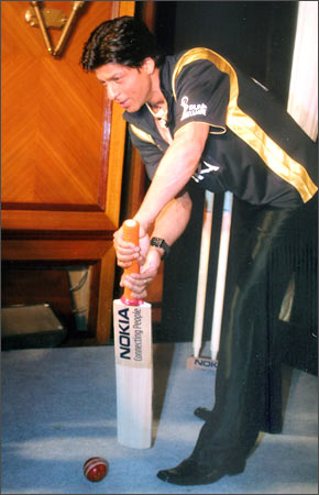 SRK the cricketer!