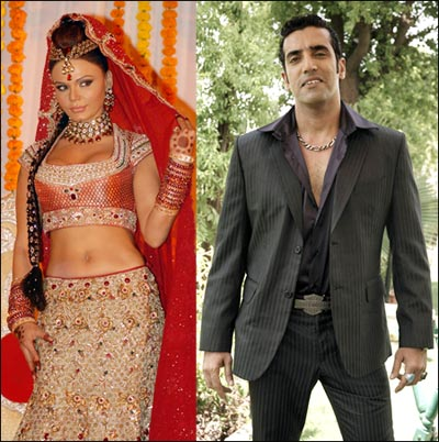 Rakhi Sawant and Ali Bana
