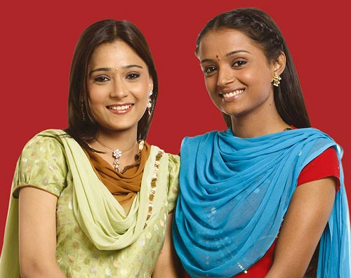 Parul Chauhan and Sara Khan
