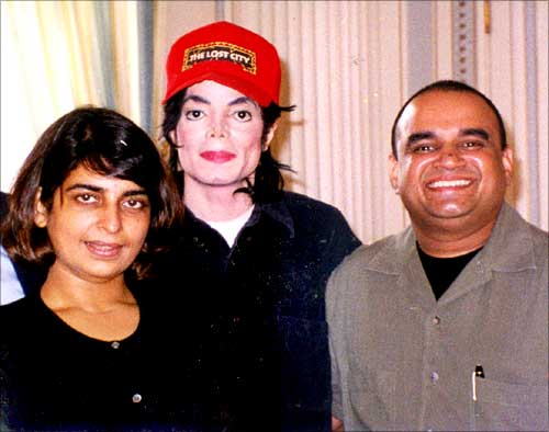 Kunika, Michael Jackson and Bharat Bala