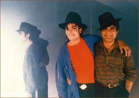 Michael Jackson and Deepak Chopra