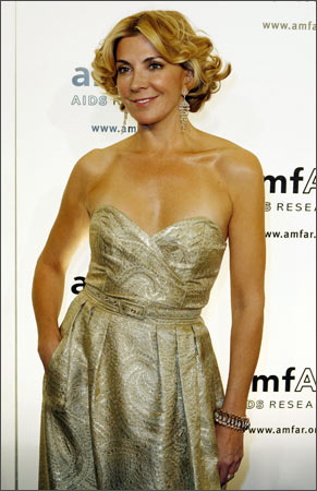 File photo of Natasha Richardson arriving at the amFAR Gala in New York