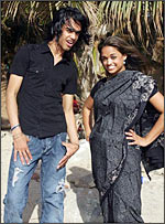 Sanjaya and sister Shyamali