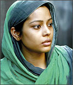 Sahana Goswami in a scene from Firaaq
