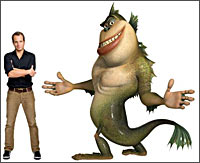 Will Arnett as The Missing Link