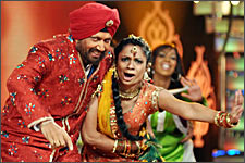 Mohinder and choreographer Lilian Mendes