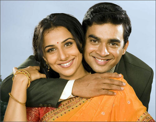Vidya Balan and Madhavan