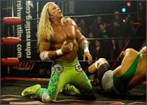 Mickey Rourke in a scene from The Wrestler