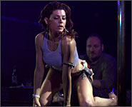 Marisa Tomei in a scene from The Wrestler