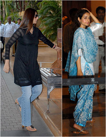 Tabu and Amisha Patel