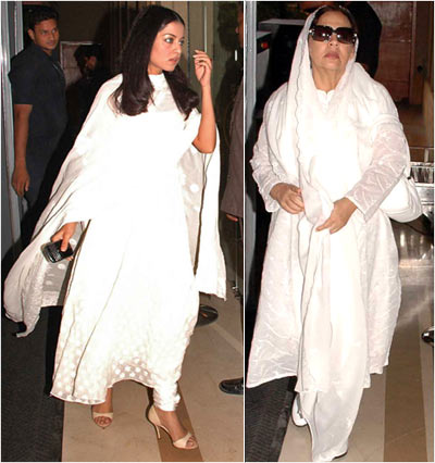 Celina Jaitley and Farida Jalal