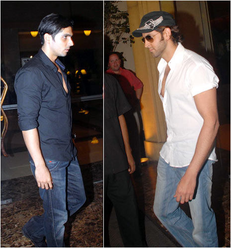 Zayed Khan and Hrithik Roshan